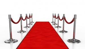 Aisle Runner Carpet Woven Back 1m wide x 11m long Red